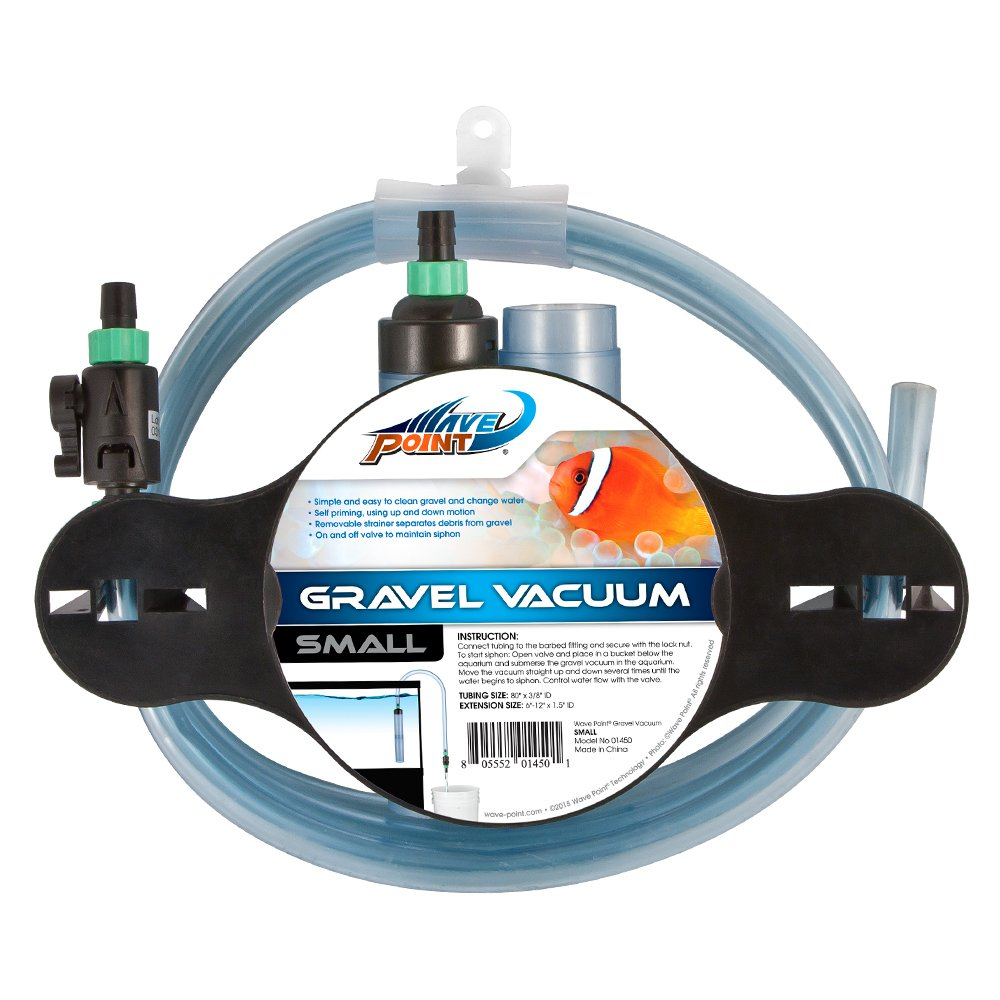 WavePoint Small Gravel Vacuum with Control Valve