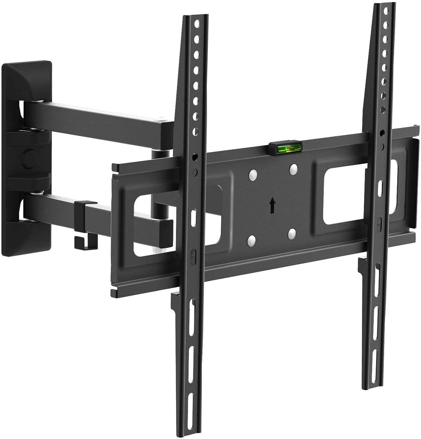 Charmount Tv Mounts Wall Full Motion Swivel Corner Tv Mount 26 55 Inch With Max Vesa 400x400 Up To 88 Lbs Articulating Arm Tilting Tv Bracket Wall Mount Support Tv Mural Amazon Ca Electronics