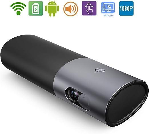 XZGG Mini Proyector WiFi Bluetooth HD Proyector Portatil 4k 1080P ...