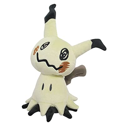 "Sanei PP59 Mimikyu Pokemon All Star Collection Stuffed Plush, 7"": Toys & Games"