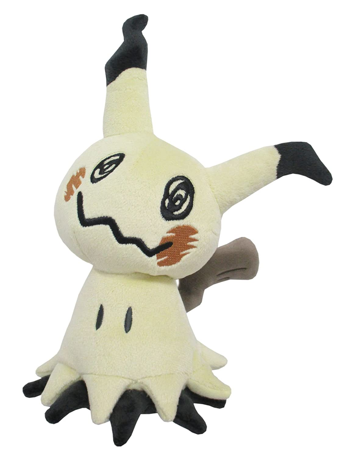 Sanei PP59 Mimikyu Pokemon All Star Collection Stuffed Plush, 7 7 JBK International