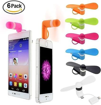 Sn /_ Portatile Telefono Cellulare Mini Micro Ventilatore USB per Android Samsung