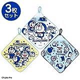 Sanrio Doraemon loop with a hand towel 3 pieces set I'm DORAEMON From Japan New
