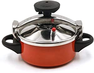 Outdoor Instant High Pressure Cooker, Stainless Steel 2L Explosion-proof Gas Pressure Cooker, Portable Camping Rice Cooker Steamer 2 Quart For 1-2 Person Family Restaurant Kitchen Cooking, Induction C