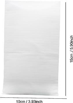 per Articoli Da Tavola in Porcellana da Tavola in Vetro Sacchetti Fogli di Schiuma 15X20cm 200 Pezzi 0,5T EPE Antiurto Flessibile Packaging Schiuma Cuscino Avvolge