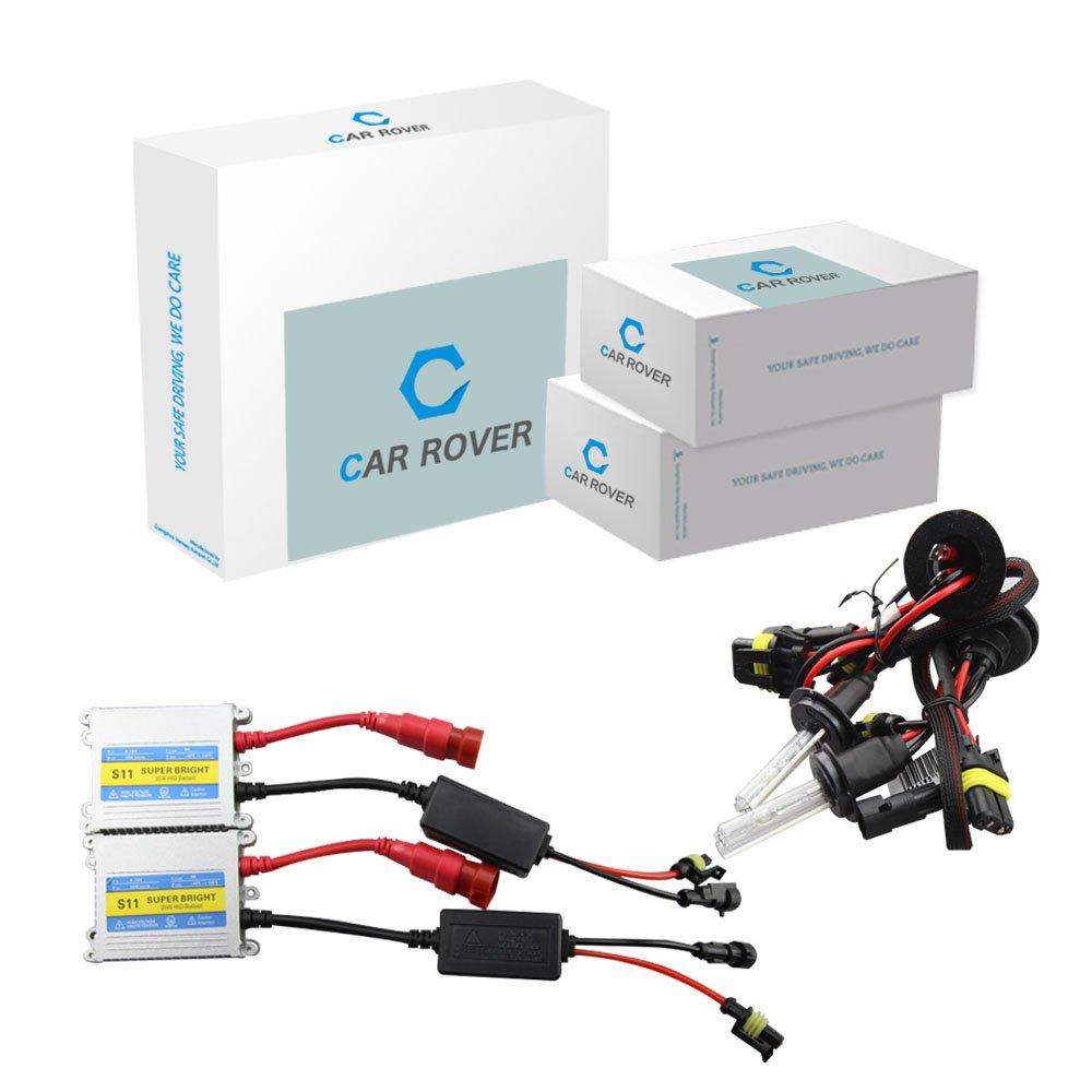 CAR H1 HID Xenon Conversion Kit, 12V 35W, Headlight Bulb 8000K Startway Autopart