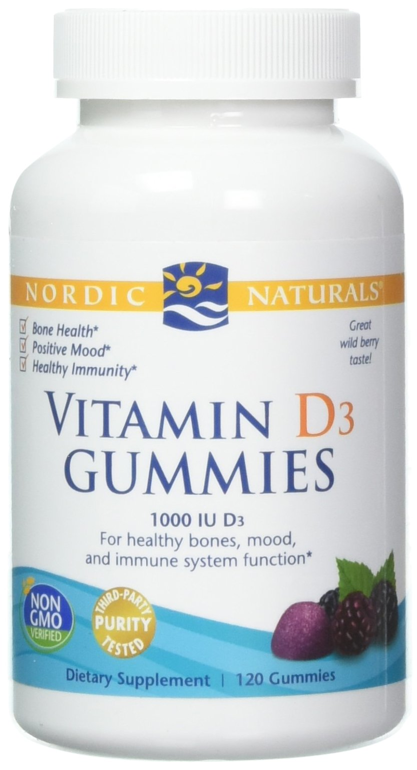 Nordic Naturals, Vitamin D3 Gummies, 120 Count by Nordic Naturals (Image #1)