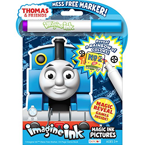 - Bendon 26042 Thomas and Friends Imagine Ink Magic Ink Pictures