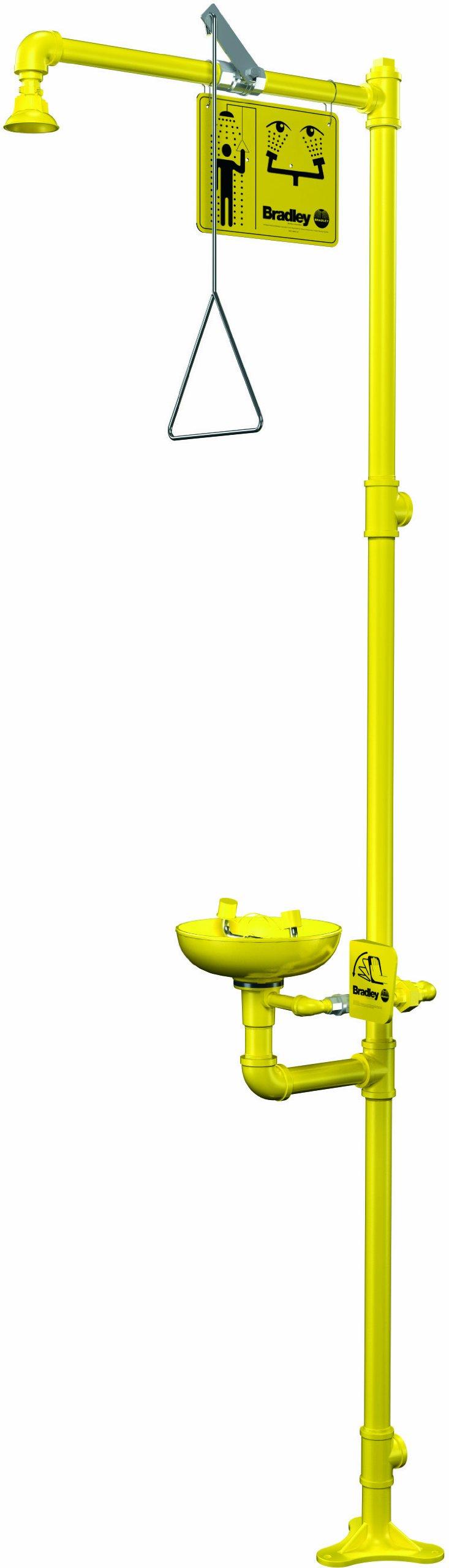 Bradley S19-310 Combination Shower Eyewash Station