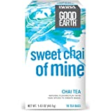 Good Earth Chai Tea, Sweet Chai of Mine, 18 Count Tea Bags (Pack of 6)