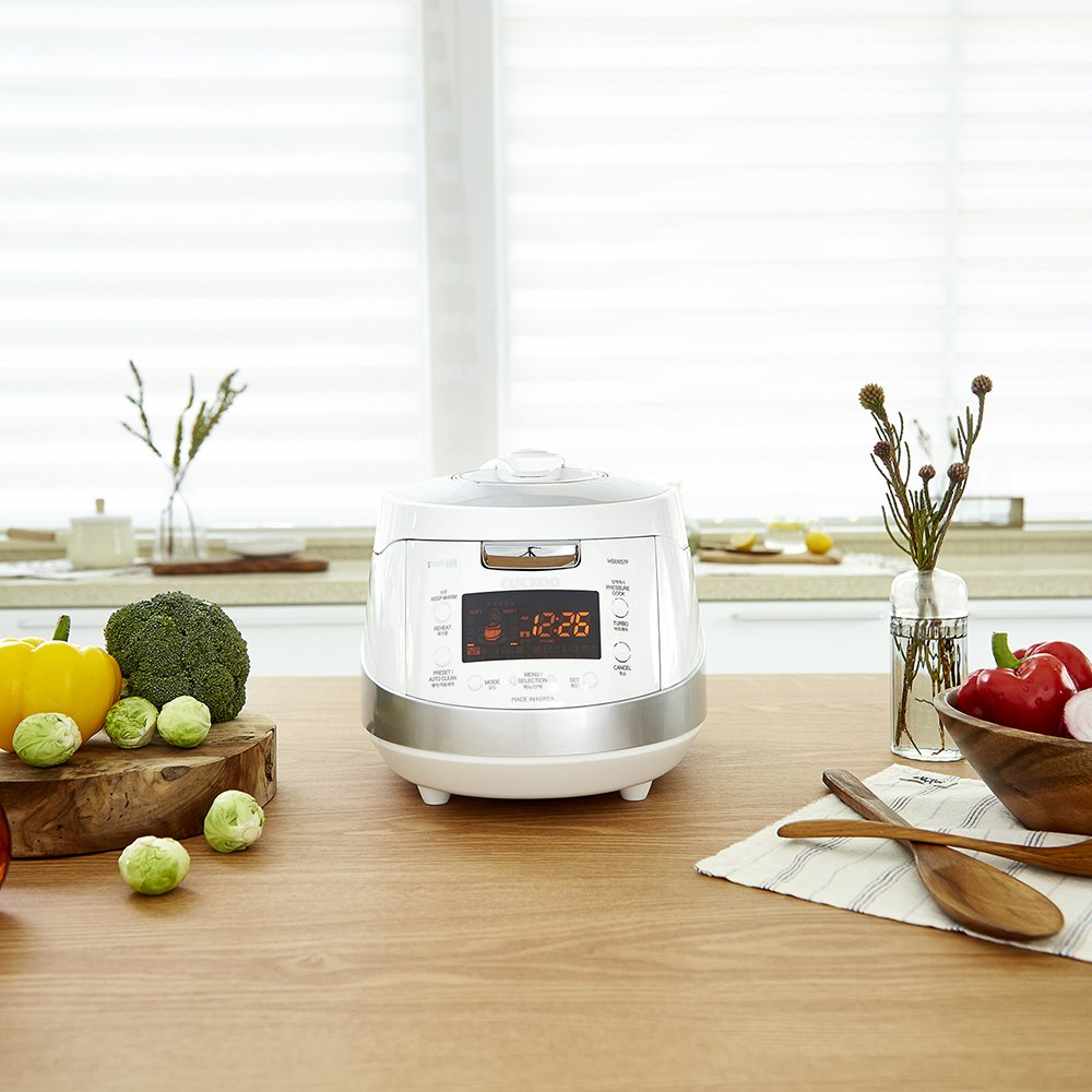 Cuckoo Electric Induction Heating Pressure Rice Cooker CRP-HS0657F (White) by Cuckoo (Image #2)