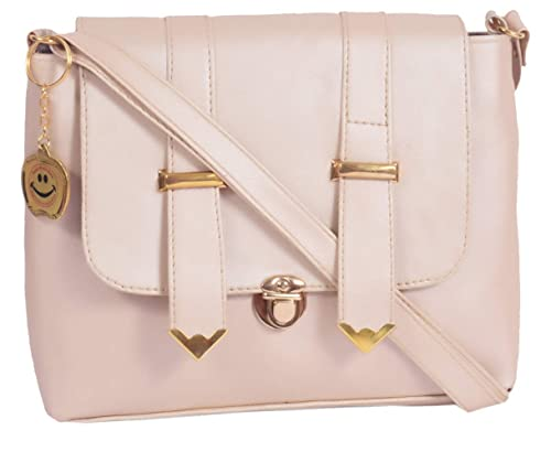 Beets Collection Women s PU Sling Bag Side Bag For Girls Women (Off-White)   Amazon.in  Shoes   Handbags b11a38e5f6f57