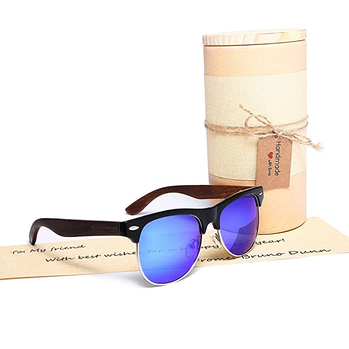 47a3c47b5d7 Amazon.com  Clubmaster Stylish sunglasses for men women