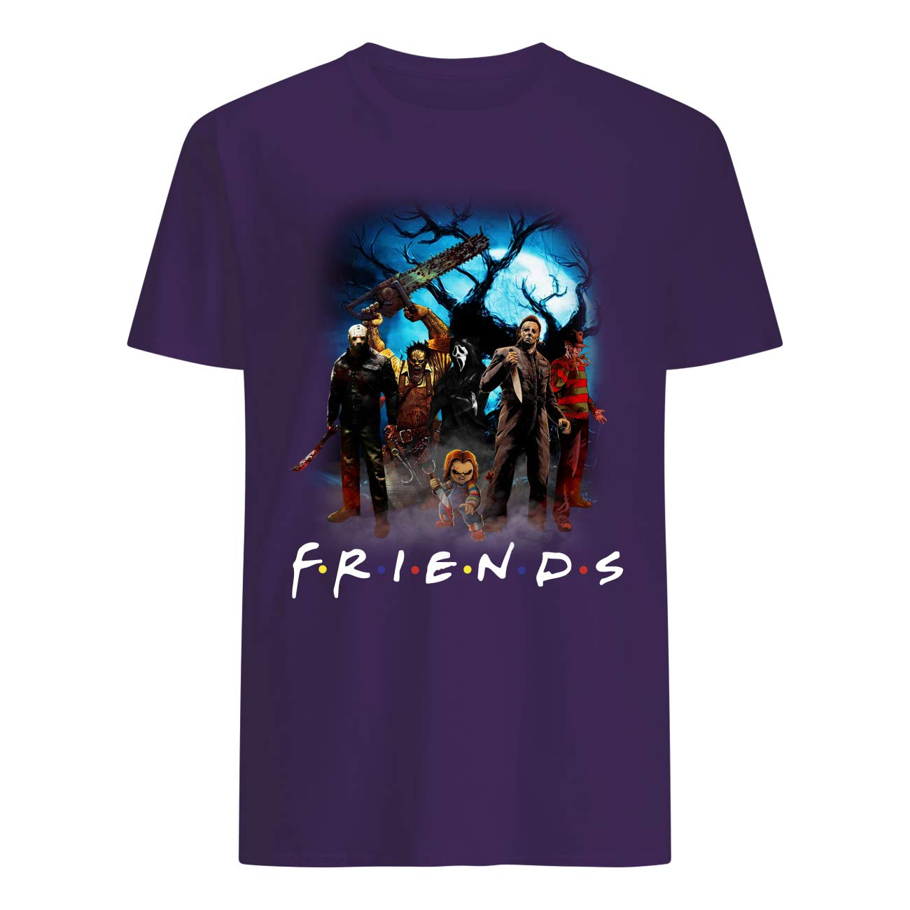 Cute Hello Darkness My Old Friend Halloween T Shirt For Horror Movies Fans Gift