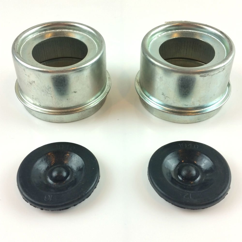 Triton 03848-P Grease Cap and Rubber Plug 2-Pack