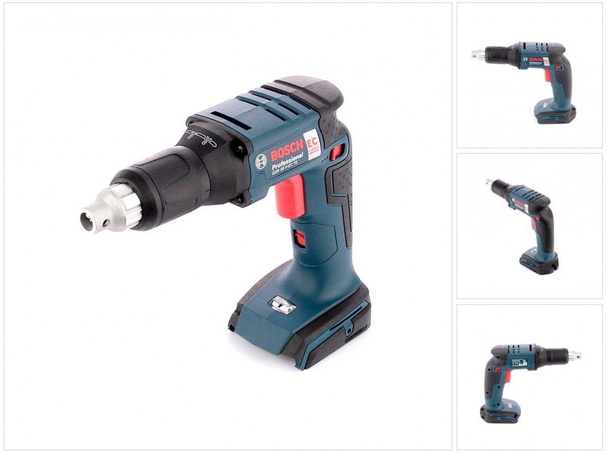 solo, sin bater/ía, sin cargador Bosch GSR 18/V-EC TE Professional atornilladora trockenb de o/ído