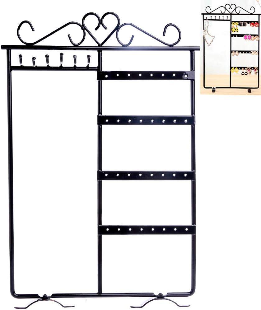 lunji 70/agujeros puerta organizador/ /Pendiente de joyas expositor pendientes