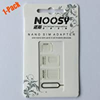 Noosy Sim Card Adapter Kits with Nano Sim Adapter and Micro Sim Adapter