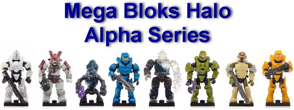 Bravo /& Charlie Series Mini Figure Blind Bags 1 Pack of Each Mega Bloks Halo Alpha