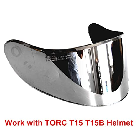 Torc T14 Mako Helmet Replacement Face Shield Visor Clear