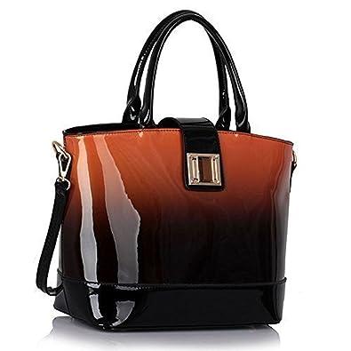 Ladies Handbags Patent Womens Large Bags Shoulder Celebrity ...