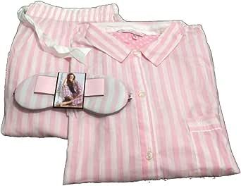 Victoria s Secret rosa de la mujer el algodón Mayfair juego ...