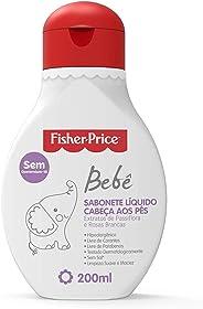 Sabonete Liquido Bebe, 200 ml, Fisher Price