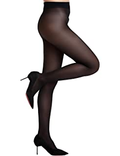 6a9e7d10f51f6 Calzedonia Womens 50 Denier Soft Touch Microfibre Opaque Tights. £7.00 ·  AMORETU Women Seamless Pantyhose Stocking Classic Microfiber Tights 30 DEN
