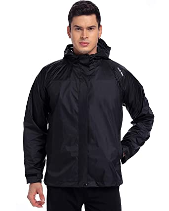 giacca antipioggia tascabile