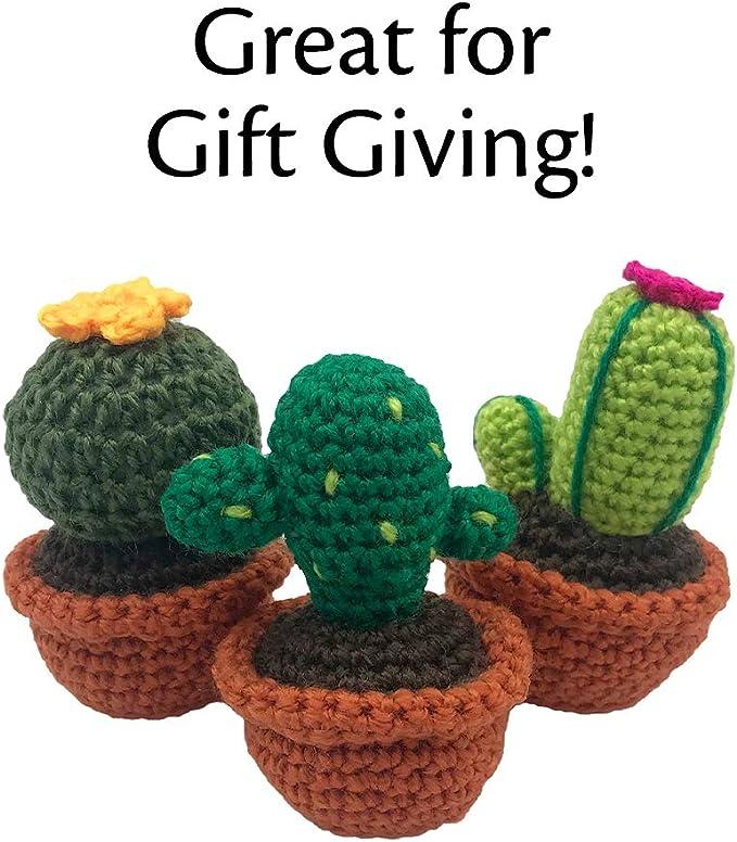 Cactus Crochet PATTERN Amigurumi cactus DIY tutorial crochet | Etsy | 785x679