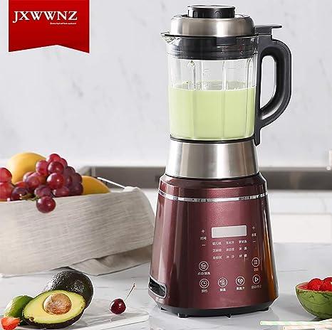 JXWWNZ Licuadoras para Verduras y Frutas, 10 Velocidades Licuadora ...