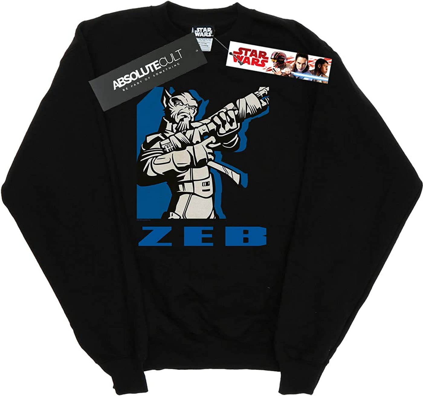 Star Wars Girls Rebels Zeb Sweatshirt