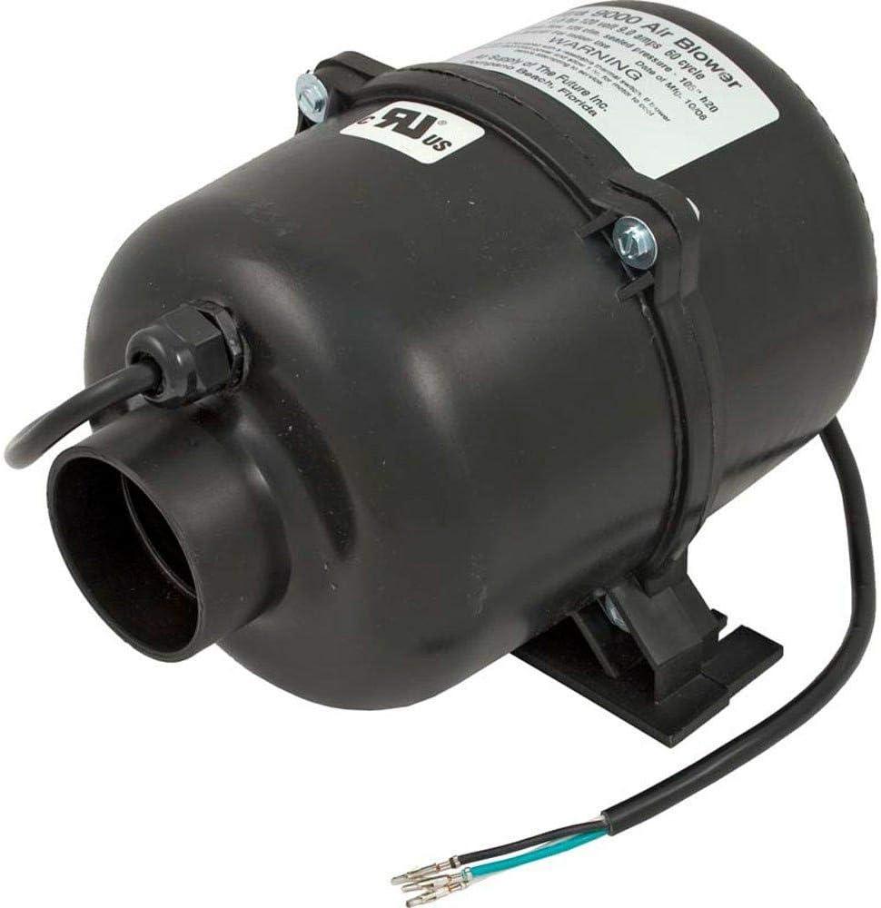 Air Supply 3915131 1.5 HP 120V 7 Amp Ultra 9000 Portable Pool Spa Air Blower
