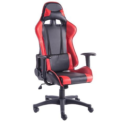 Racing Bürostuhl Chefsessel Gaming Stuhl Sportsitz Drehstuhl Schreibtischstuhl U
