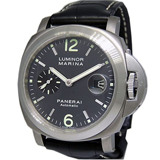 Panerai Luminor Marina swiss-automatic Mens Reloj pam00441 (Certificado) de segunda mano: Panerai: Amazon.es: Relojes