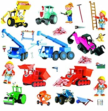 Awesome Roommates Roommates Rmk1162Scs Bob The Builder Peel U0026 Stick Wall Decals Part 9