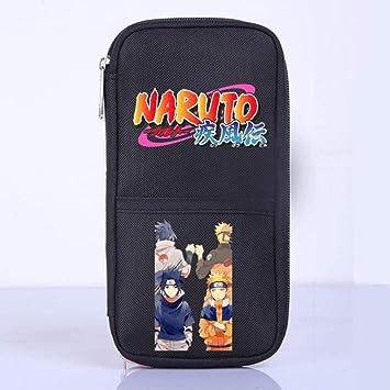 Twhoixi Estuche para lápices Naruto Comic Box Estuche para lápices Estuche para lápices de Gran Capacidad Estuche para teléfono móvil para Estudiantes Estuches de Tela para lápices: Amazon.es: Equipaje