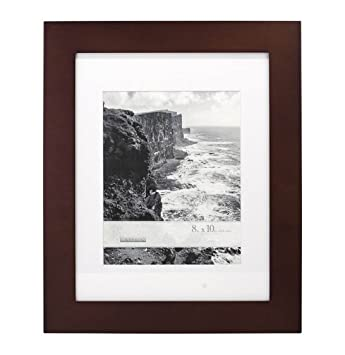 Amazoncom Malden Home Profiles 8 X 10 Matted Espresso Wall Photo