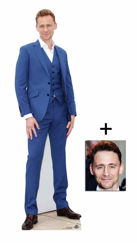 Fan Pack - Tom Hiddleston Lifesize Cardboard Cutout - Includes 8x10 Star Photo