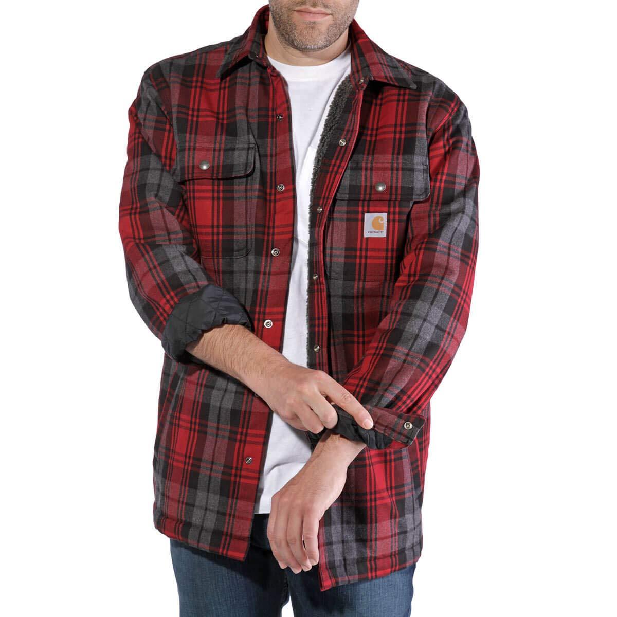TALLA Small. Carhartt Jacket Hubbard Shirt