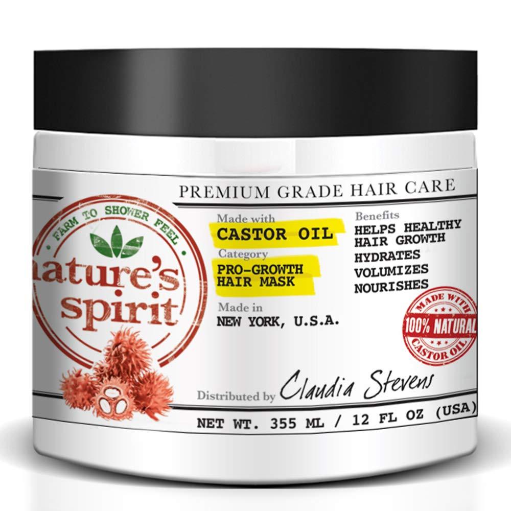 Natures Spirit Pro-Growth acondicionador de aceite de ricino ...