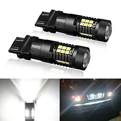 Led Auto Lights >> Toauto 2 X 3056 3156 3057 3157 Led Bulbs 1200 Lumens Super Bright 3030 Chipsets With Projector For Back Up Reverse Lights Brake Lights Tail