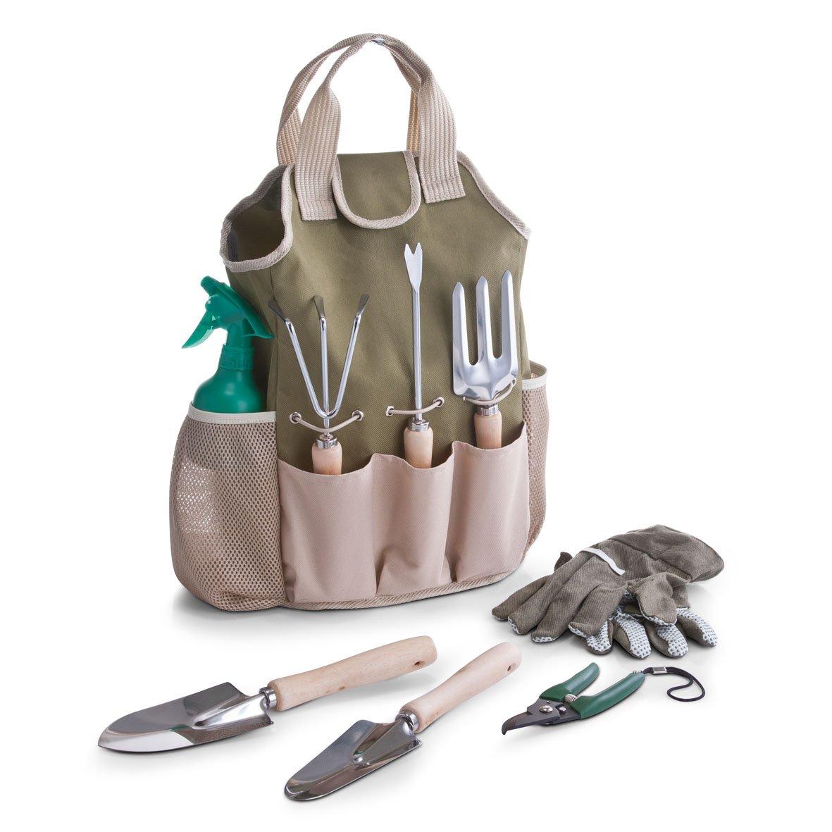 Zeller 16001 ensemble d\'outils de jardinage, 9 pièces avec ...