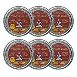 Soothing Touch W67367NBD Narayn Balm Regular Strength (Pack of 6)