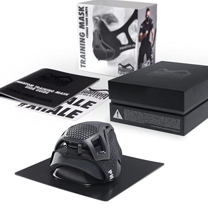 Phantom Athletics - Máscara de entrenamiento (Medium): Amazon.es ...