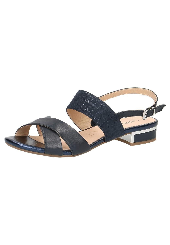 CAPRICE 28143-22 Femme Sandale à lanières,Sandales,Sandales à lanières,Chaussures d'été,Confortables