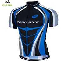 ZEROBIKE® Men's Short Sleeve Cycling Jersey Jacket Breathable Quick Dry Outdoor Sports Wear