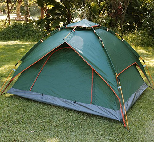 Qwest Instant Pop Up Camping Tent, Portable Water Resistant Canopy Shelter