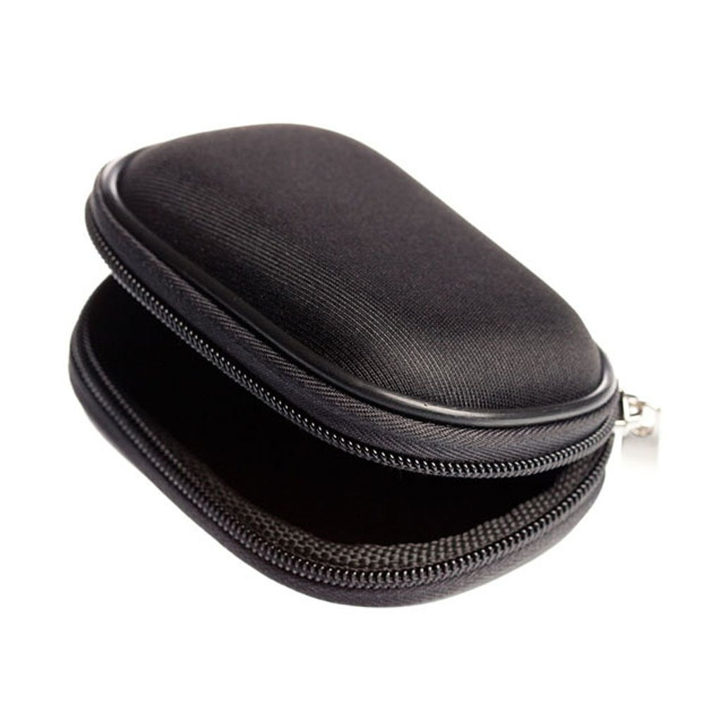 Hearing Aid Case Soft Earphone Protective Case for BTE, IEC, CIC, Earmold, IEM Earphone