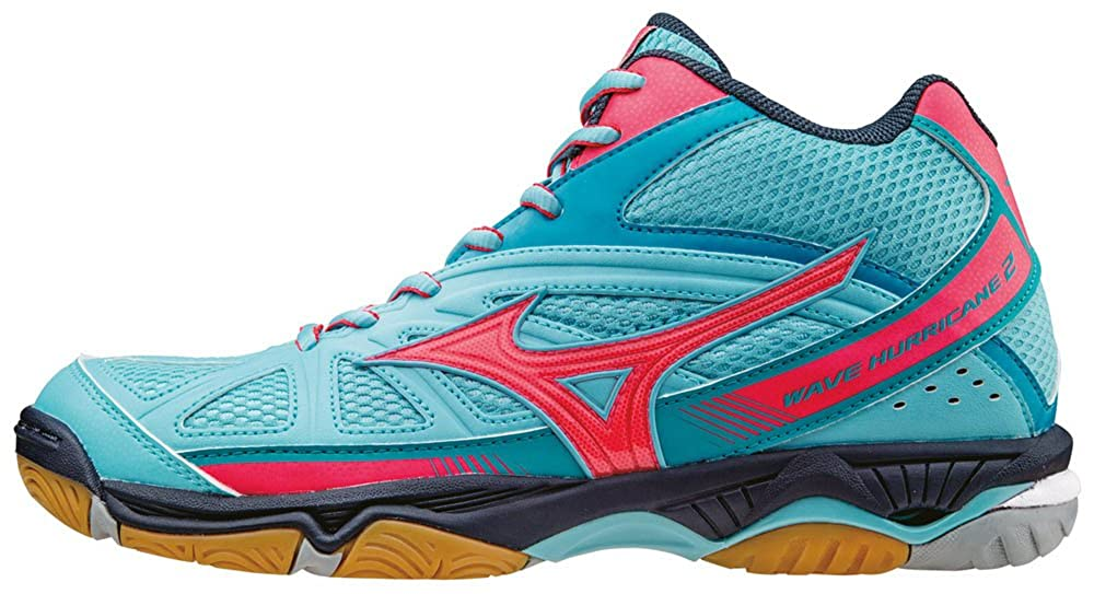 Mizuno Damen Wave Hurricane Mid WOS Volleyballschuhe, rosa V1GC1645